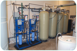 Full Set-Up of Commercial Reverse Osmosis